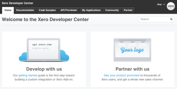 API Developer Centre