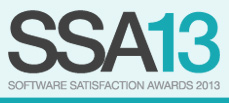 Software Satisfaction Awards 2013 logo