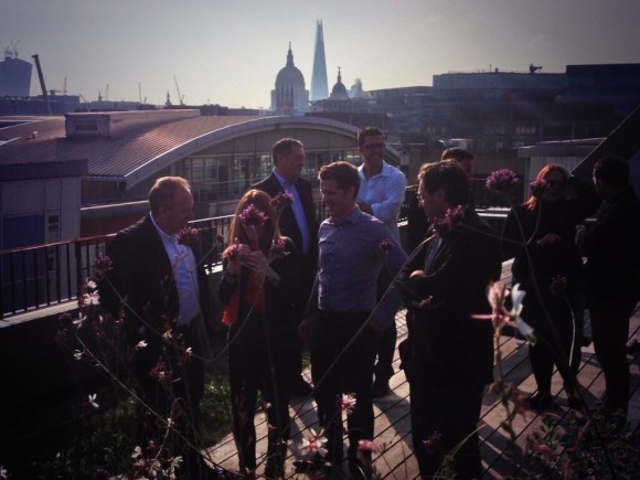 Rooftop Xerocon conference in London