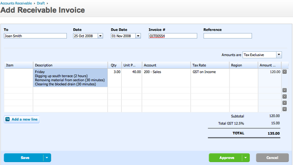 Write Detailed Descriptions On Your Invoices Xero Blog - How to invoice someone
