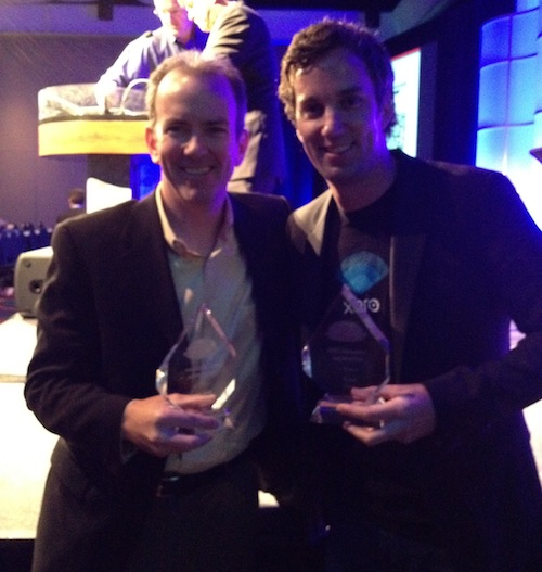 René Lacerte, CEO & Founder of bill.com and Jamie Sutherland, Xero President US Operations