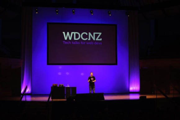 Owen Evans' opening speech at WDCNZ tech conference