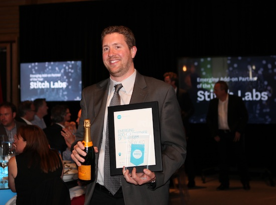 Stitch Labs accepts an award