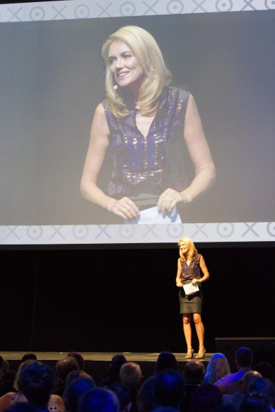 Petra Bagust emcees at Xerocon New Zealand 2014