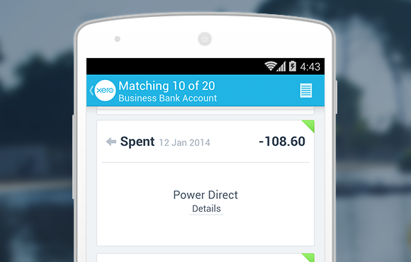 Xero Touch for Android