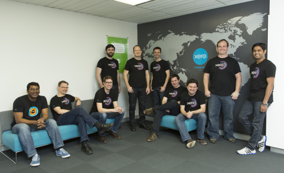 The Xero team in Canberra