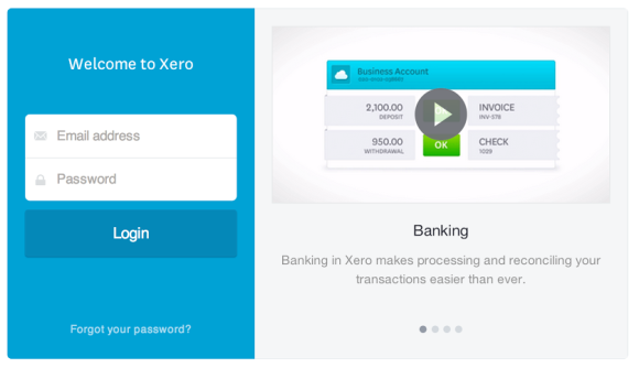 23 June 2014 Xero release includes Xero TV on the login screen