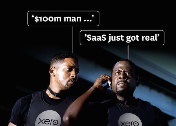 $100 million ARR for Xero