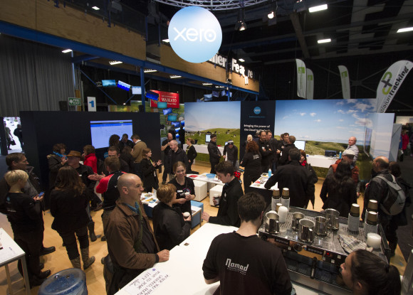 Farming in the Cloud stall at Fieldays 2014