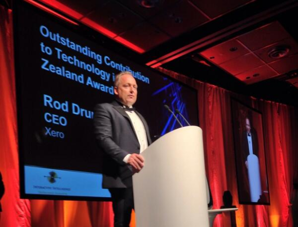 Xero CEO wins Outstanding Contribution to Technology