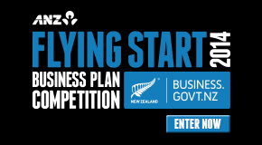 ANZ Flying Start Business Plan Competition – enter now logo