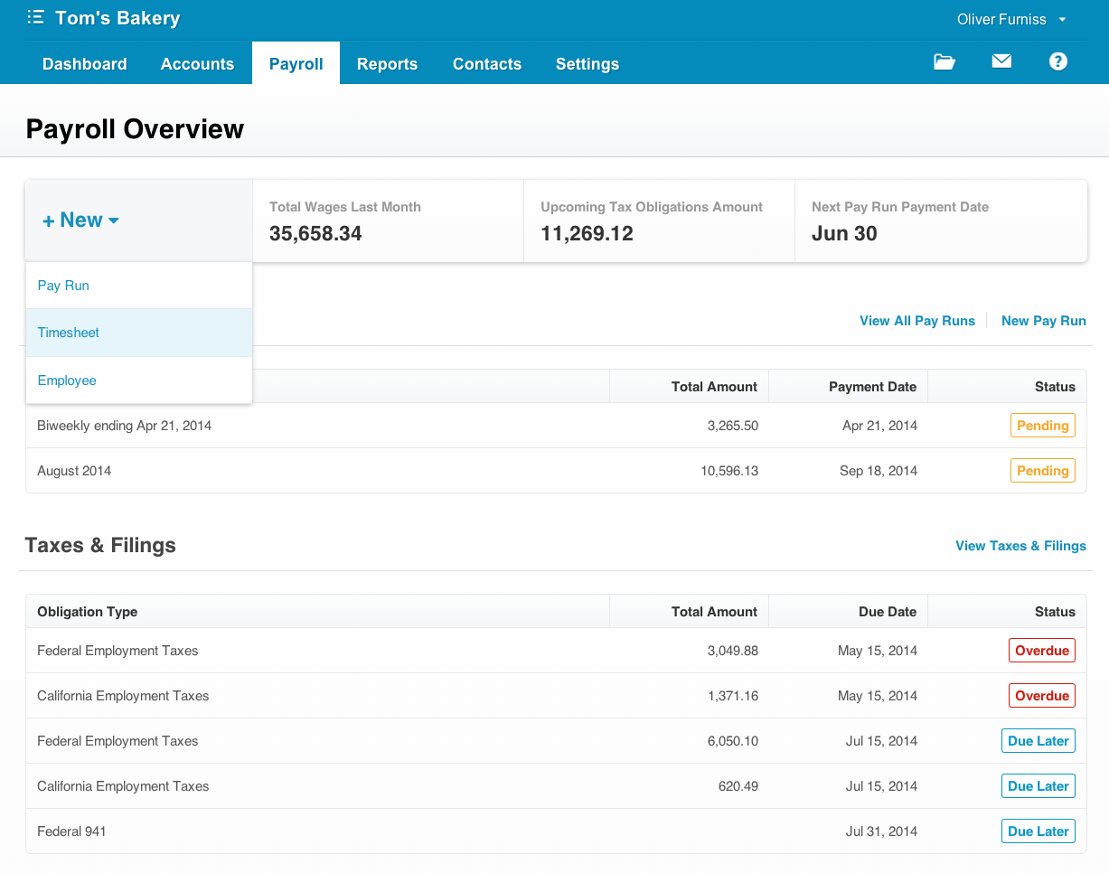 xero how to read your payslip
