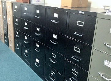 Free up space with a paperless office