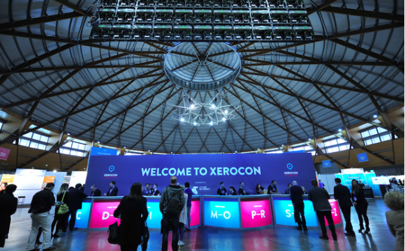 Attendees gathered in The Dome in Sydney for Xerocon 2014