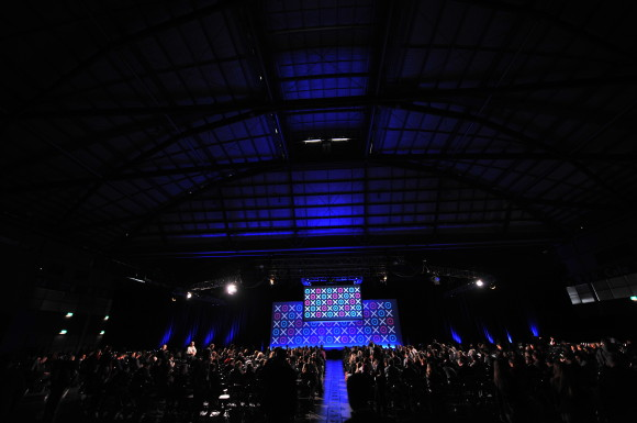 Beautiful stage at Xerocon Australia 2014