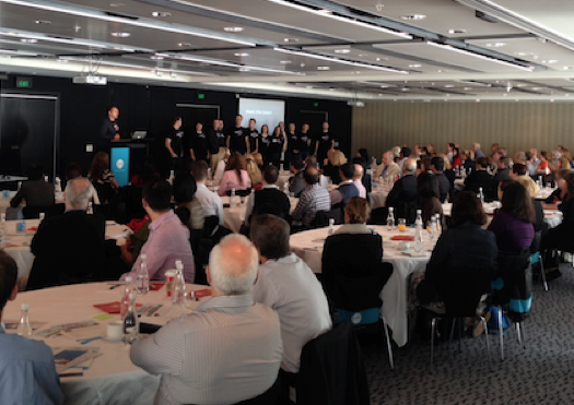 Tables were packed at this years Xero Roadshow NZ (in Auckland)