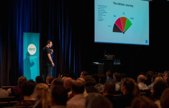 Nick Hazel presents at Xero October roadshow