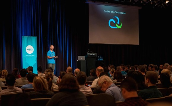 Jeffrey Atizado speaks at Xero October roadshow