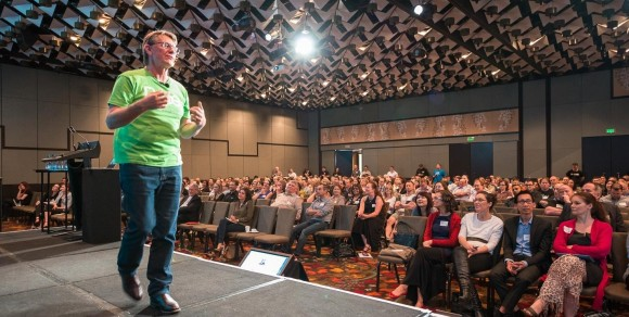 Tony Chadwick presents at Xero October roadshow