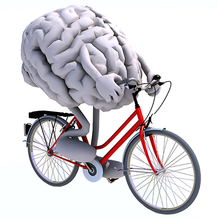 exercising your mind Are you training your mind to do what you want it to do and think think about it.