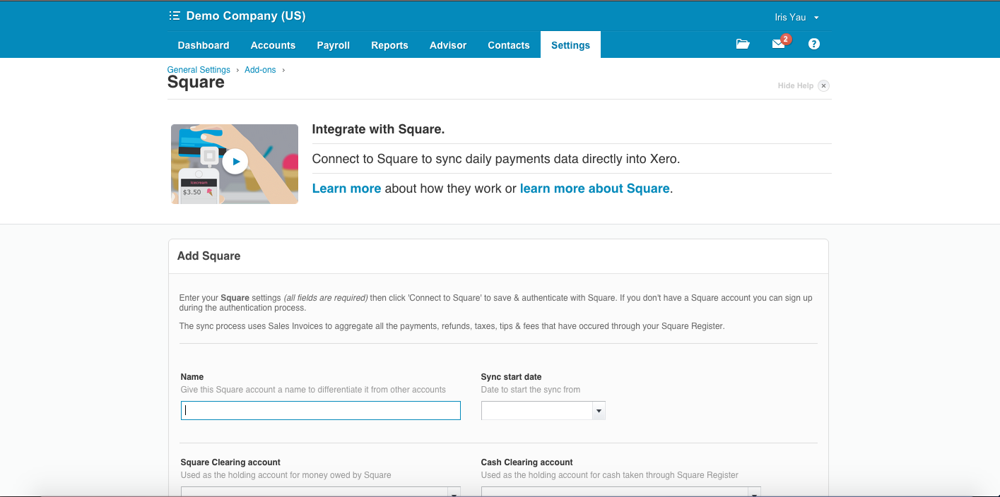 square-xero-integration