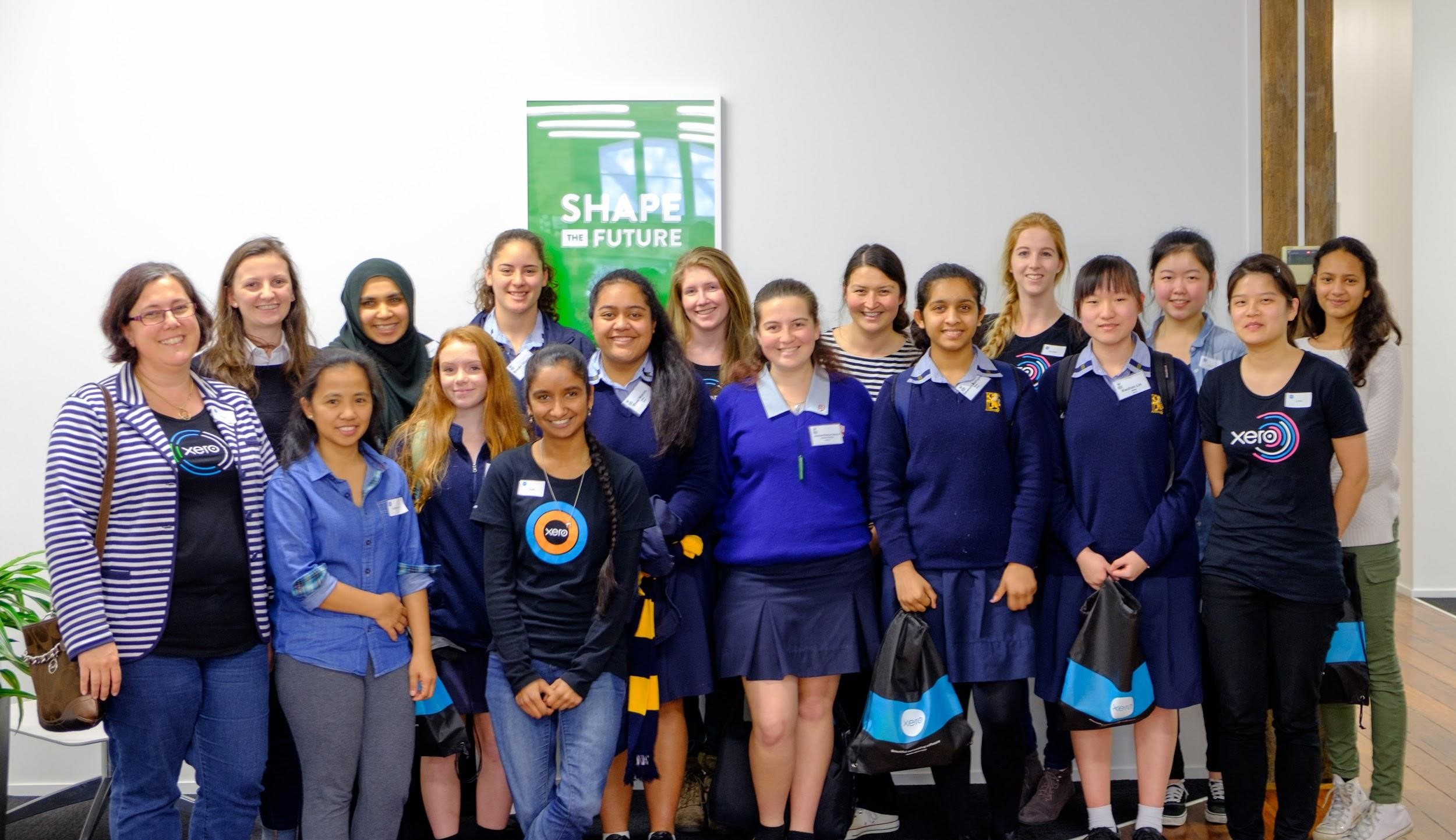women-in-tech-students-visit-Xero