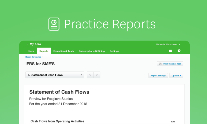 the statement of cash flows report is arguably the most useful report to a small business it brings together the cash that has come into your business and