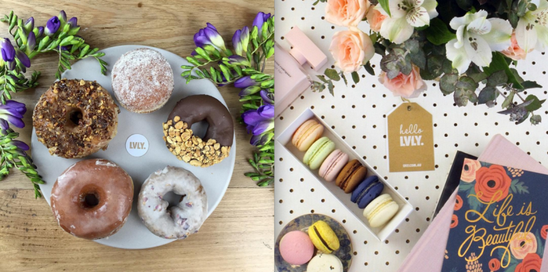 lvly-flowers-donuts-macaroons
