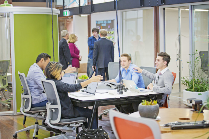 Hub Australia shows successful coworking