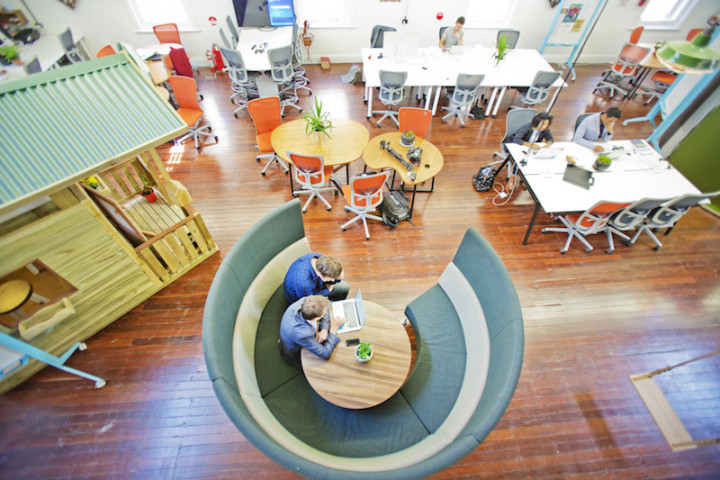 Coworking spaces are becoming more popular than ever