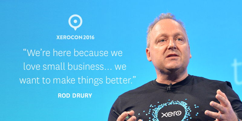Xerocon London Cloud Accounting Rod Drury Quote