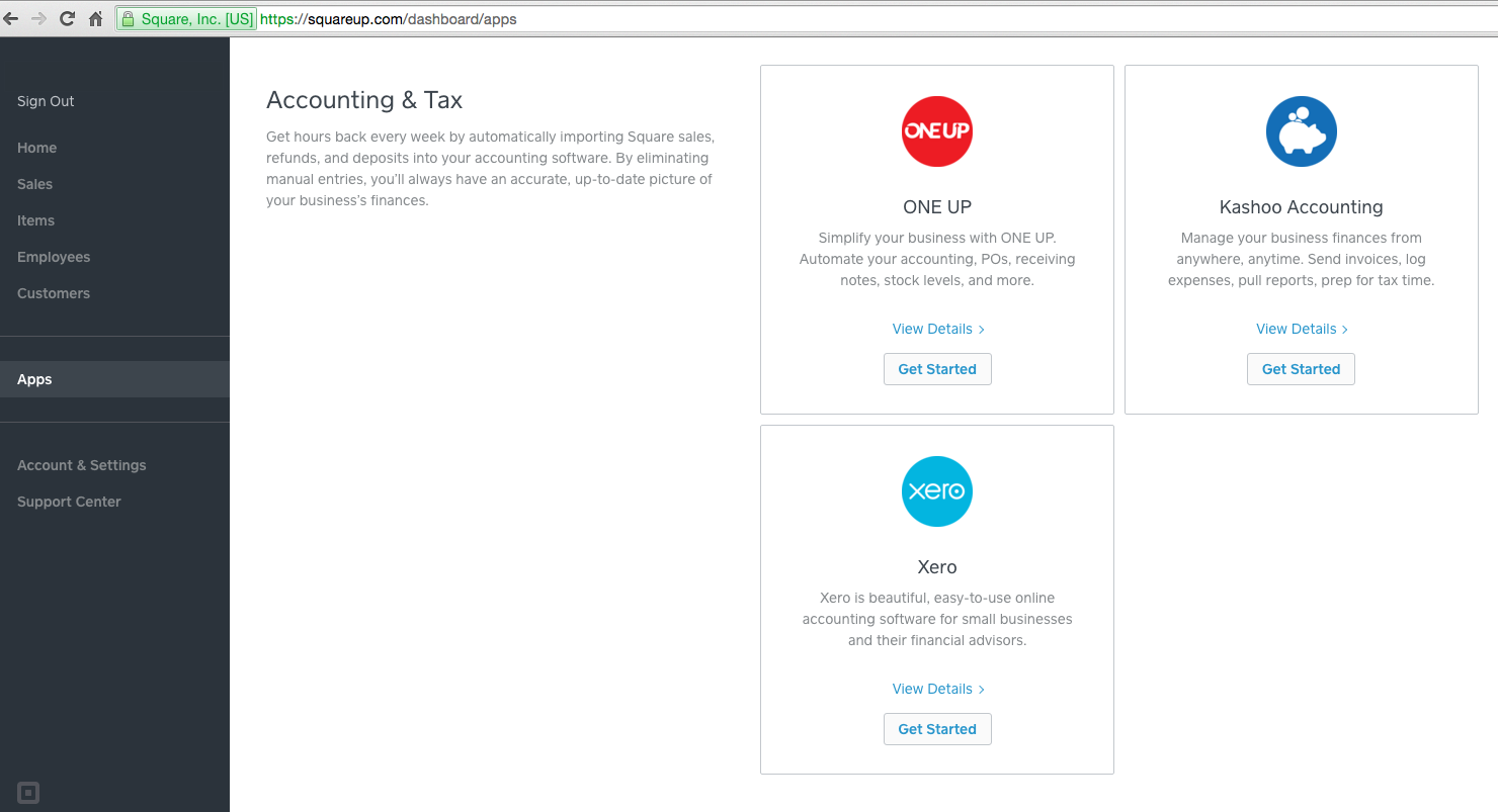 Launch of Square Reader in AU means Xero + Square can now