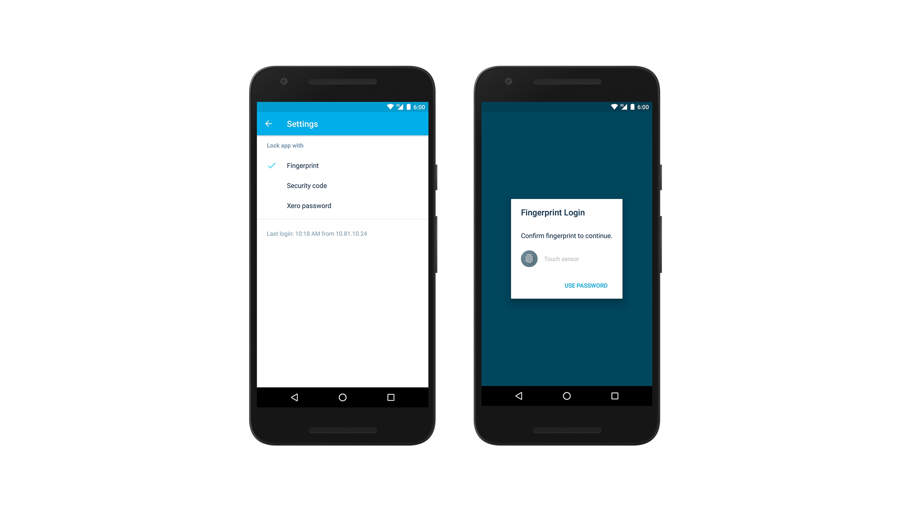 Fingerprint-blog xero for android