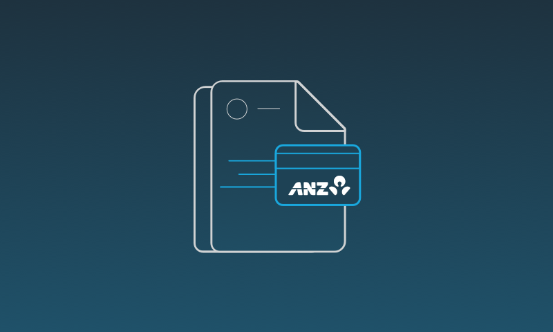 ANZ credit card feeds