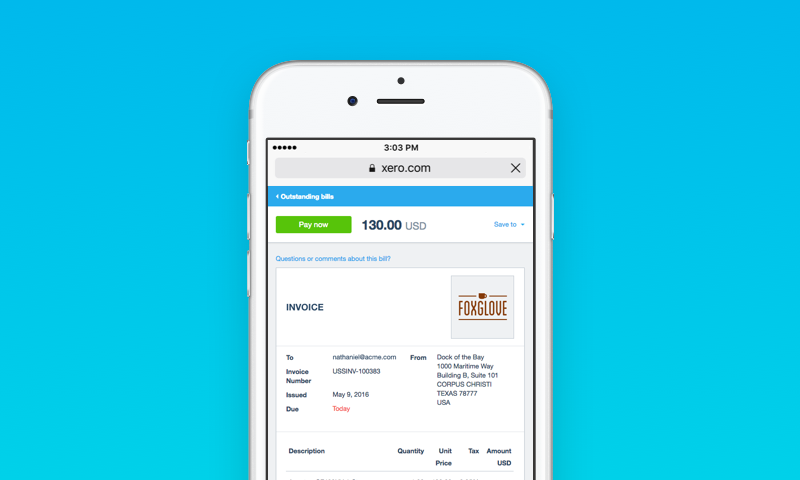 improved invoicing