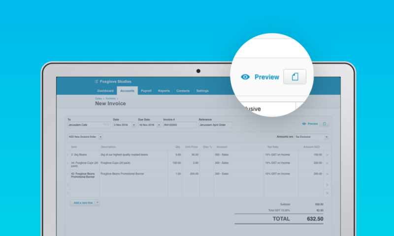 Sending Invoice Email Pdf New Live Preview For Invoicing Lets You See Before You Send  Xero  Free Template For Invoice Pdf with Paid In Full Receipt Pdf Few Documents Are As Important To A Small Business As Their Invoices Not  Only Does A Quality Invoice Bring Money In The Door Its A Sign Of  Receipt Of The Invoice