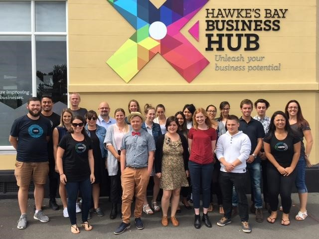 first 15 Hawkes Bay Xero office