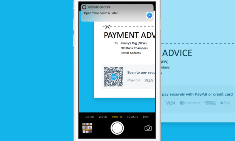 IOS QR Codes Take The Pain Out Of Invoicing So Small Businesses - How to create an invoice on paypal mobile for service business