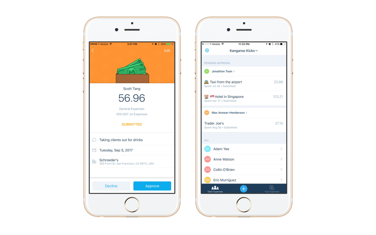 say hello to the new xero expenses bluefire accounting