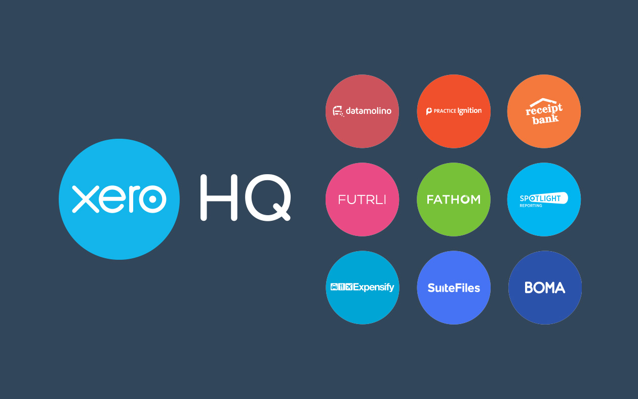 Xero HQ and HQ practice apps
