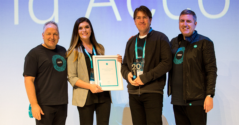 accounting partner xero award