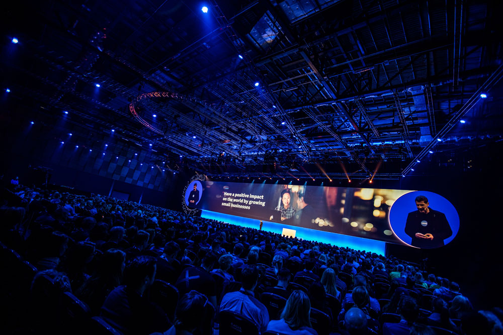 Steve Vamos on stage at Xerocon London 2018