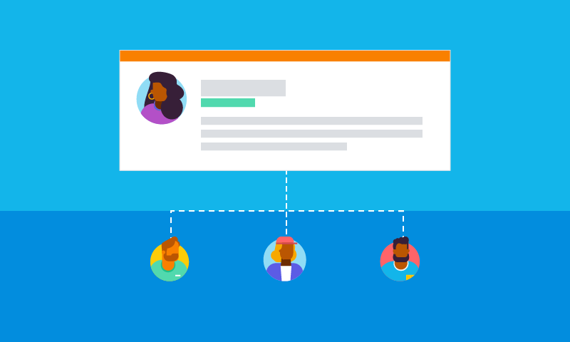Now, share support cases with your co-workers and clients