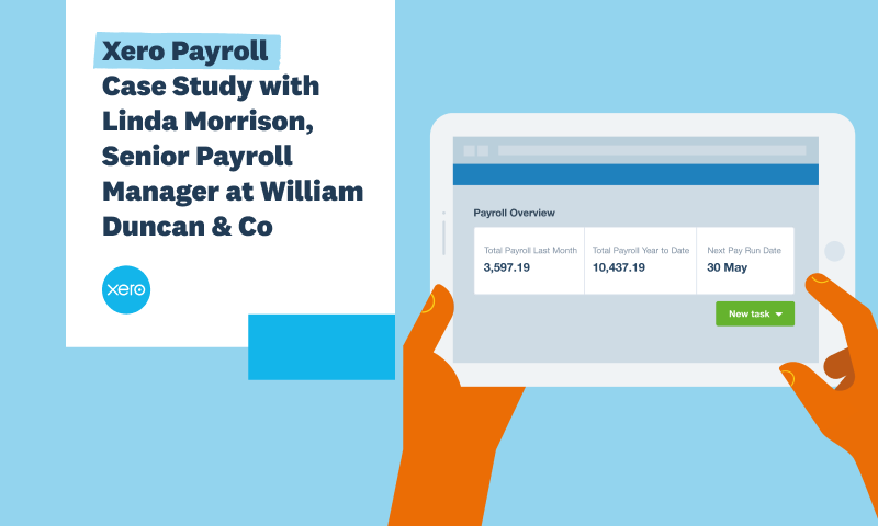 Xero Payroll: Revolutionise payroll by moving to the cloud
