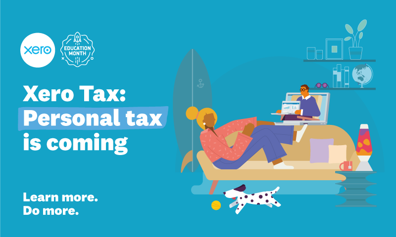 Xero Tax: Personal tax is coming