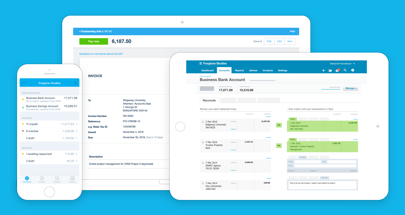 Beautiful Business Amp Accounting Software Xero Za