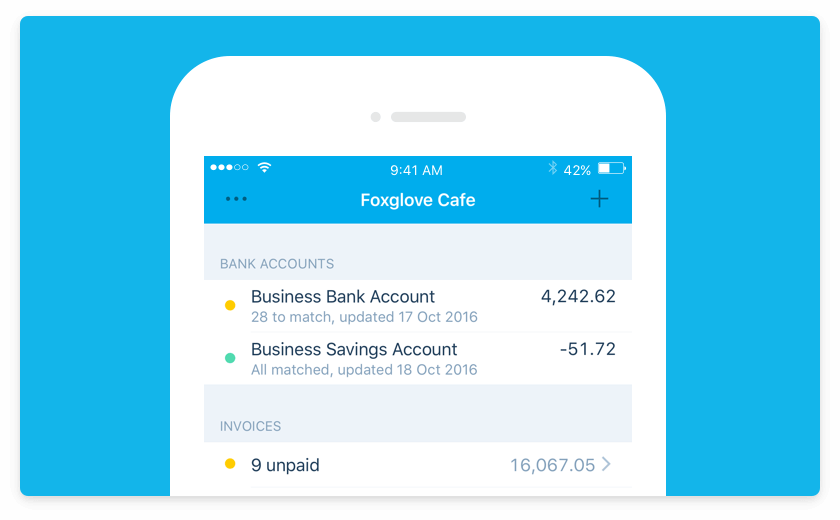 Download Xero's free mobile app