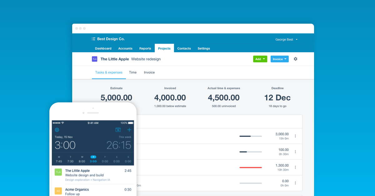 Track Jobs and Projects with Xero Projects | Xero US