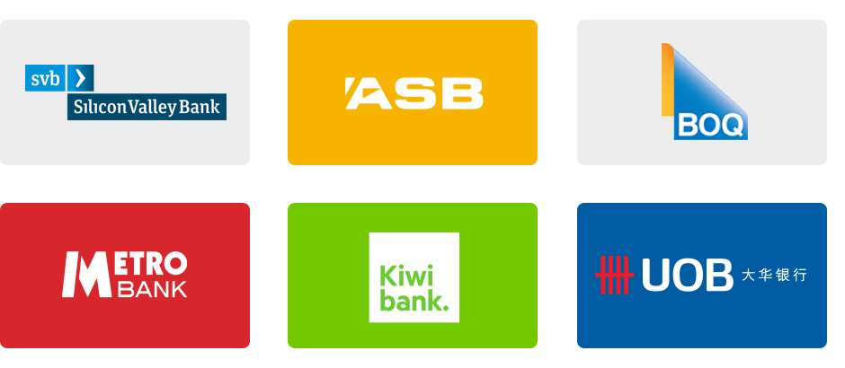 Finweb bank logos