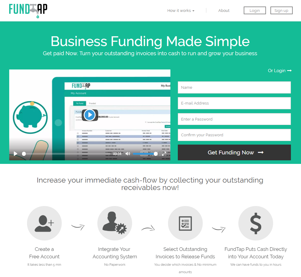 fundtap | Xero NZ
